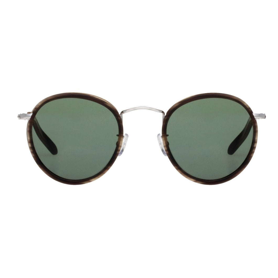 The Bespoke Dudes Eyewear Crossbreed Horn // Bottle Green