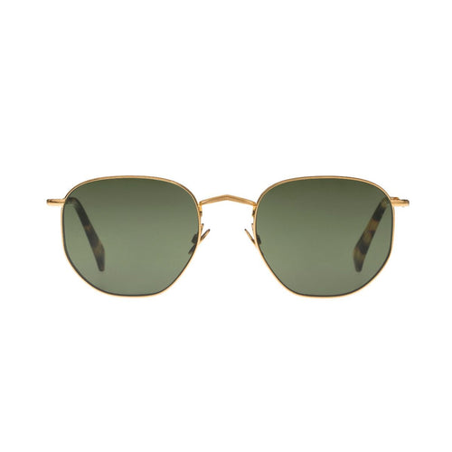 The Bespoke Dudes Eyewear Mohair Gold / Bottle Green