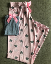 Pink n Grey Star Set