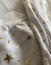 White and Gold Stars