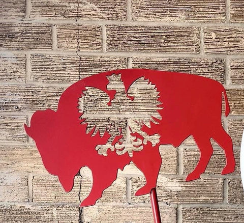Polish falcon Buffalo sign