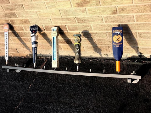 Tap handle shelf