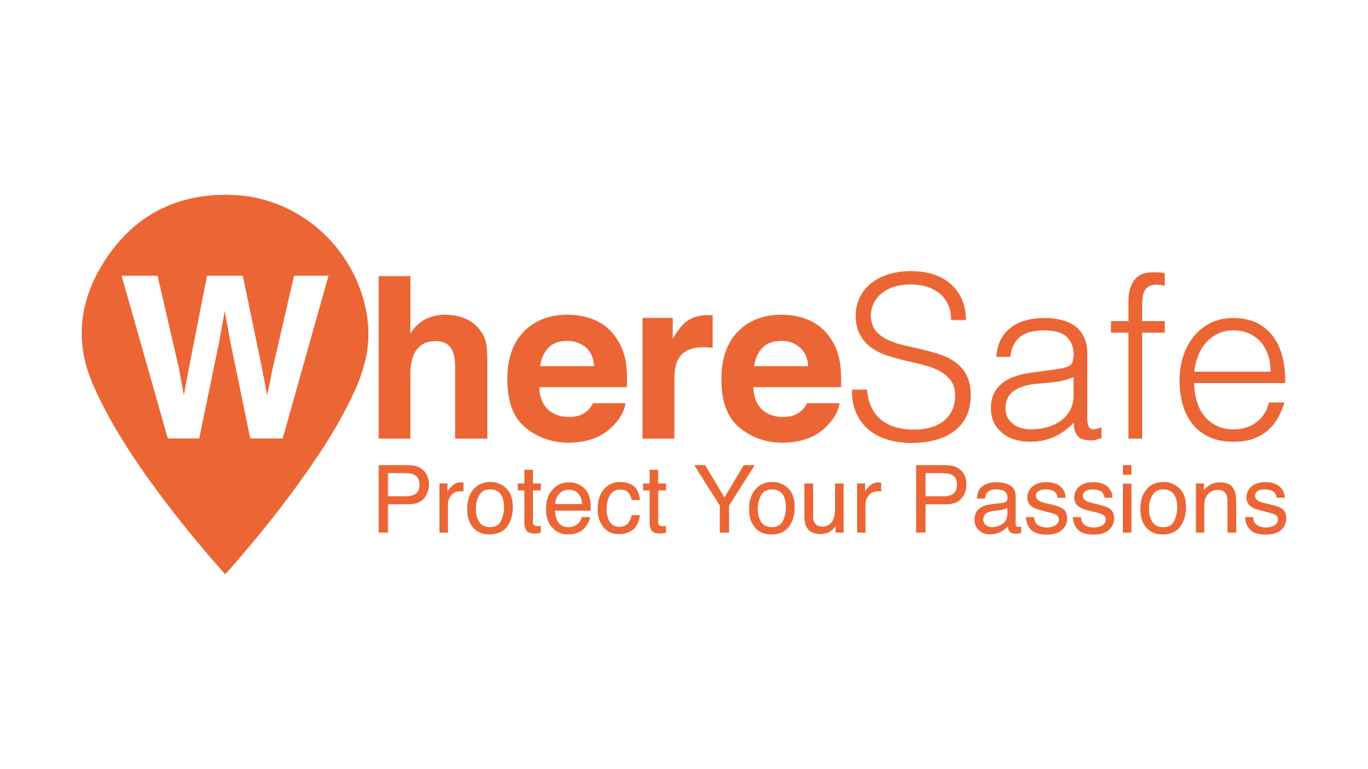 WhereSafe Logo Orange