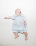 Little Boy Blue Romper - A Timeless Classic
