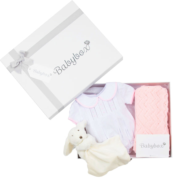 Congratulations Gift Box - Baby Girl