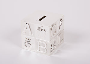 Silver-Plated Money Box