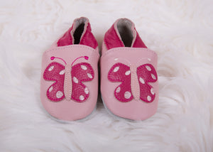 Fuchsia Butterfly Shoes