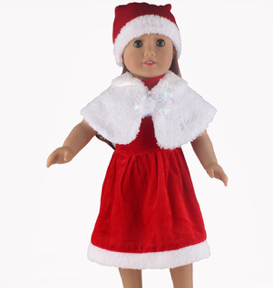 Doll's Christmas Outfit