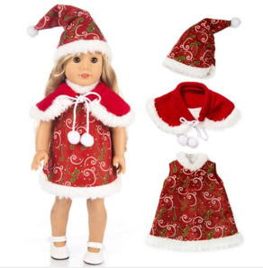 Doll's Santa Outfit