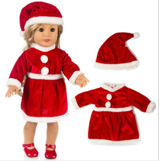 Doll's Festive Outfit