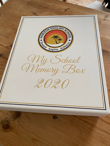 Graduation Box - School Memory Box