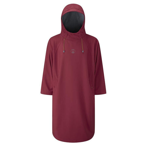 Fourth Element Storm Poncho Bordeaux-Fourth Element-Dykkeroplevelser