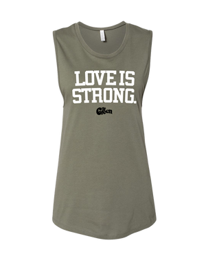 Women's Love Is Strong Tank
