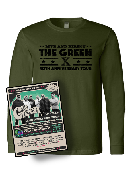 10th Anniversary Long Sleeve + Poster Bundle