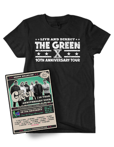 10th Anniversary Tee + Poster Bundle