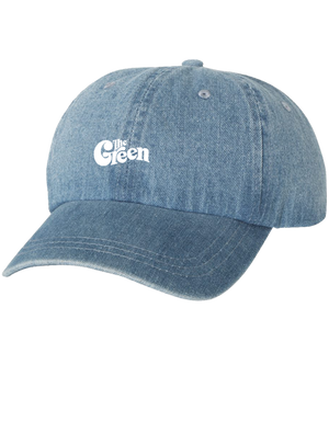 The Green Denim Dad Hat