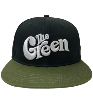 The Green Embroidered Snapback