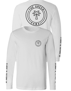 Palm Long Sleeve - White