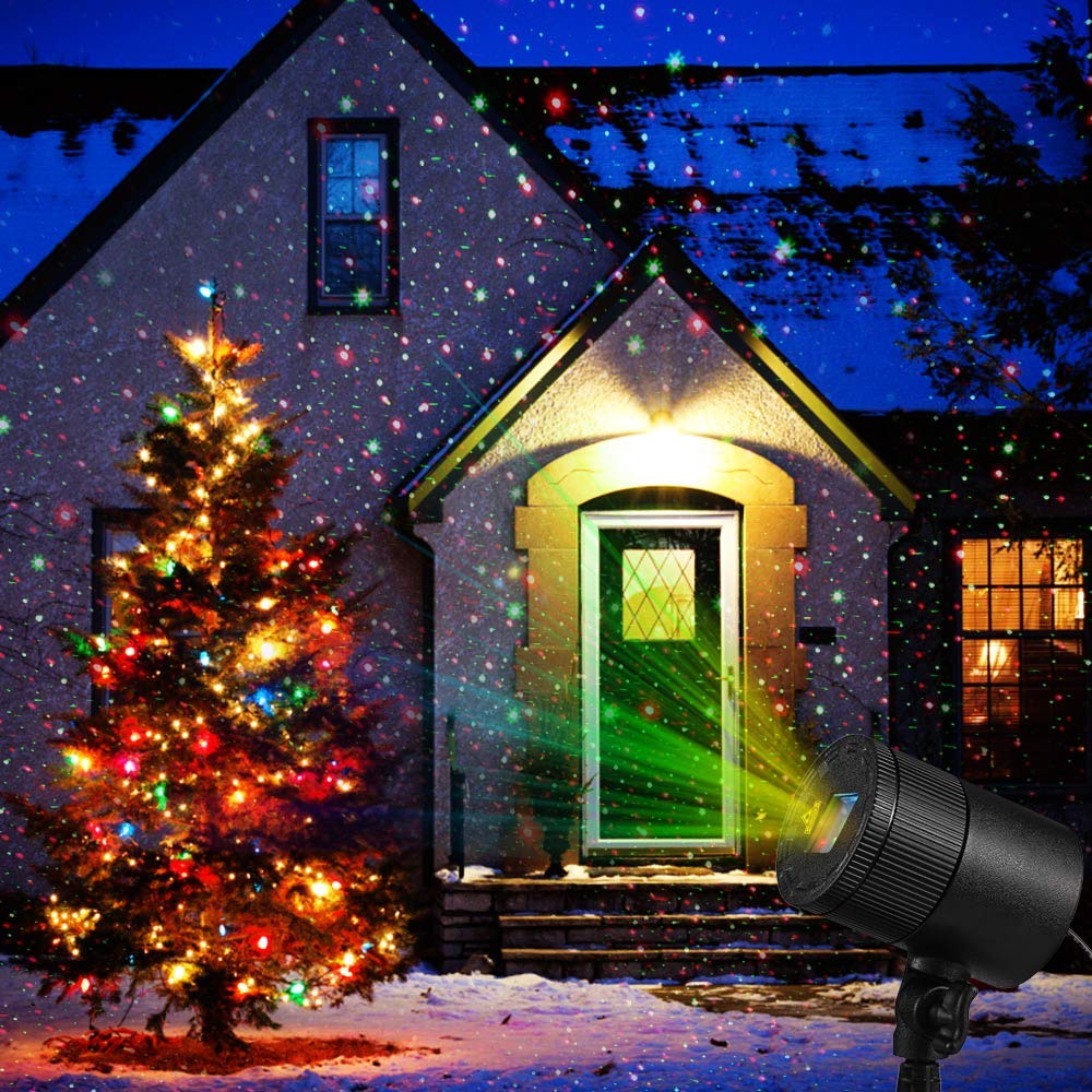 Laser Christmas Lights.Laser Christmas Lights Projector With Remote Control