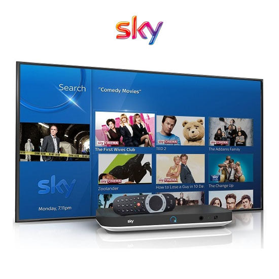 Sky Digiboxes