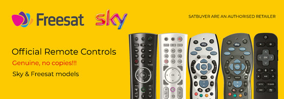 Sky and Freesat Remote Controls