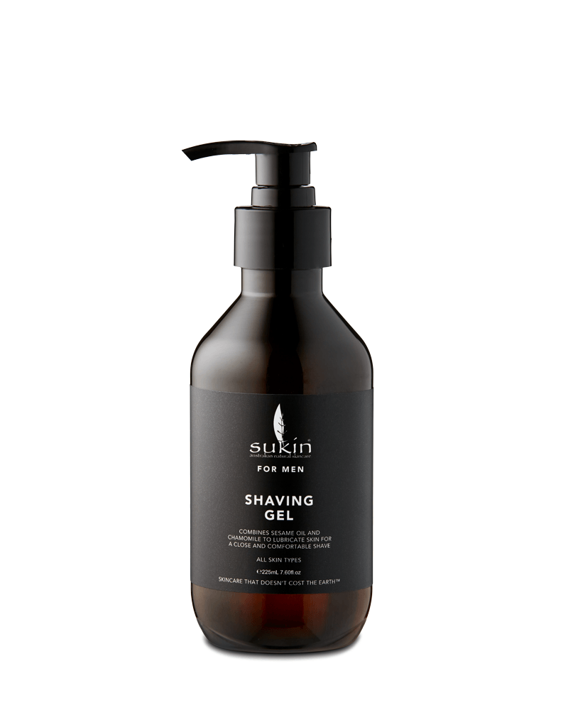 Sukin Shaving Gel For Men (225ml)