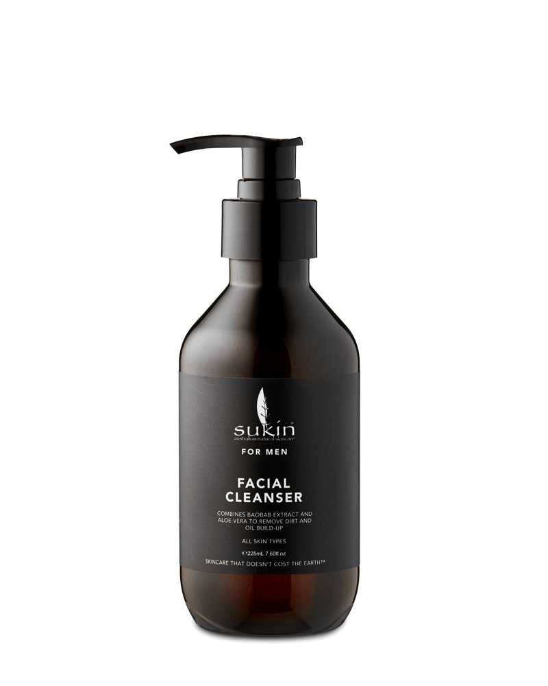 Sukin Facial Cleanser For Men (225ml)