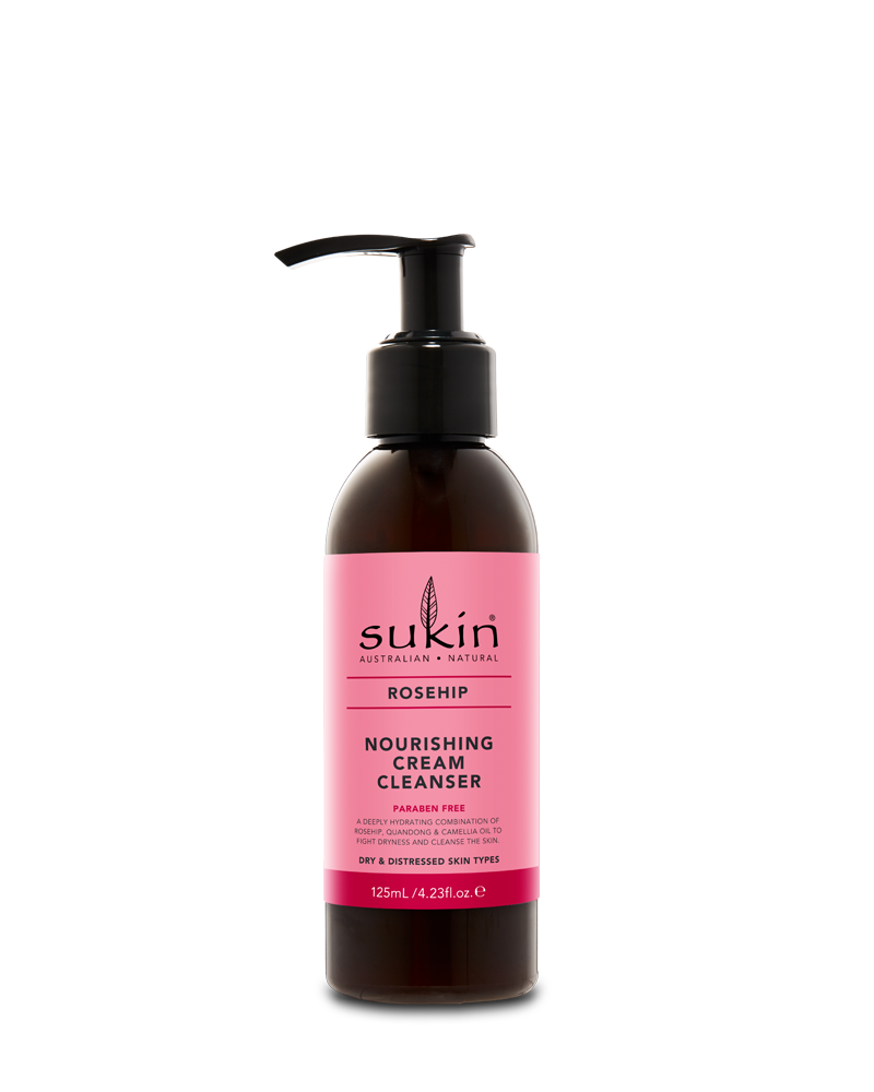 Sukin Rosehip Nourishing Cream Cleanser (125ml)