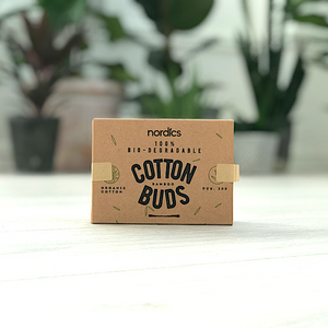 Nordics Bamboo Cotton Buds 100% Bio-degradable