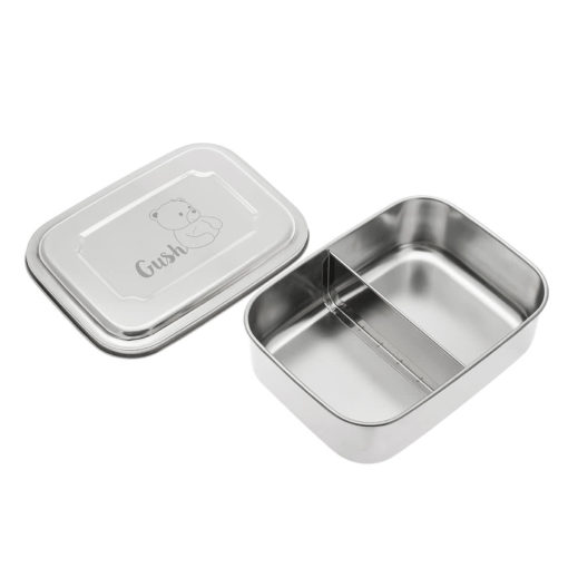 Gush Steel Food Box (1, 2 & 3 Sections) - 1200ml