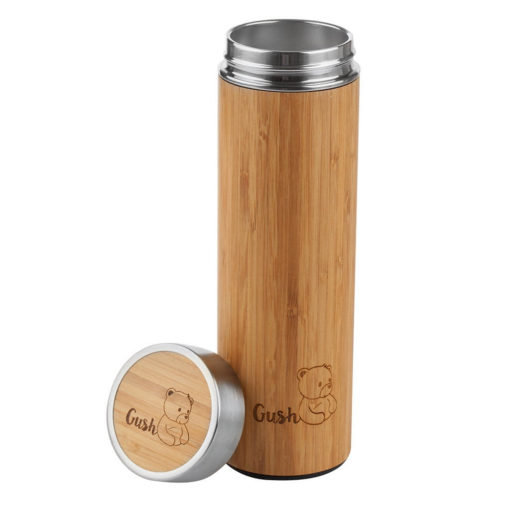 Gush Bamboo Thermos - Various Colours