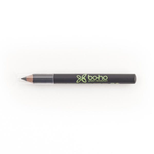 BoHo Green Makeup Organic Eyes Pencil - Dark Grey 04
