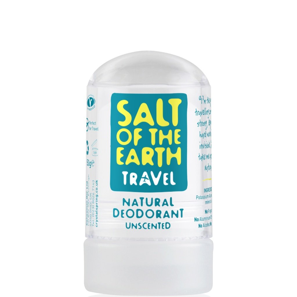 Crystal Spring Salt of the Earth Crystal Travel Deodorant (50g)