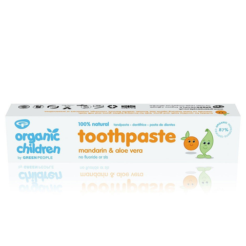Green People Organic Children's Mandarin Toothpaste (50ml)