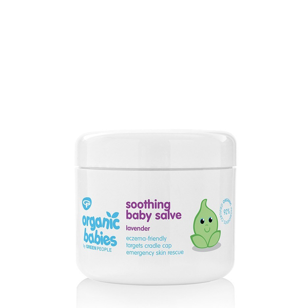 Green People Soothing Baby Salve - Lavender (100ml)