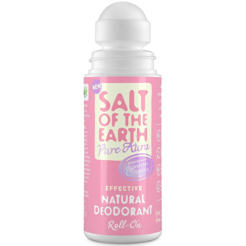 Crystal Spring Salt of the Earth Lavender & Vanilla Natural Roll-On Deodorant (75ml)
