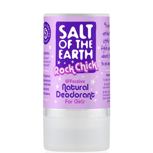 Crystal Spring Salt of the Earth Rock Chick Girls Crystal Deodorant (90g)