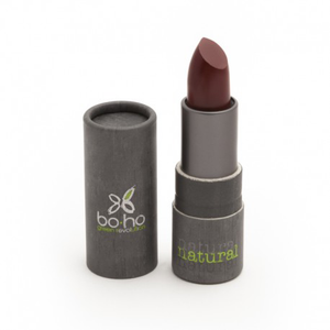 BoHo Green Make Up Organic Sheer Matte Lipstick - Garnet 305