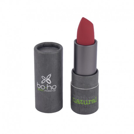 BoHo Green Make Up Organic Glossy Lipstick - Desire 312