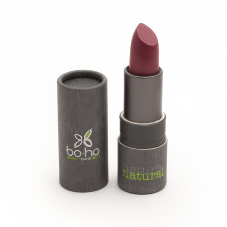 BoHo Green Make Up Organic Sheer Matte Lipstick - Tulip 106
