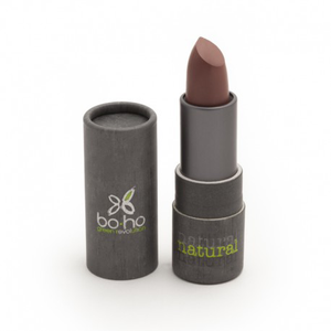 BoHo Green Make Up Organic Sheer Matte Lipstick - Linen 107
