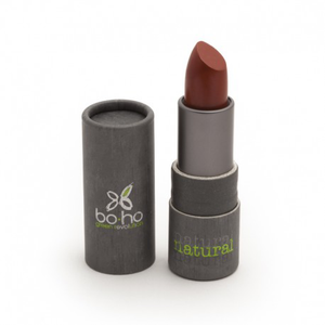 BoHo Green Make Up Organic Glossy Lipstick - Brick 308
