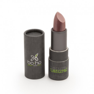 BoHo Green Make Up Organic Shimmer Lipstick - Rose English 404