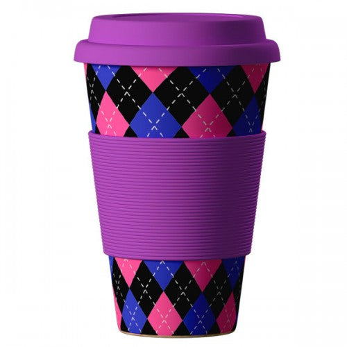 Eco Bamboo Cup Scottish 400ml