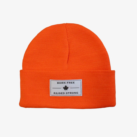 The BFRS Beanie, Orange