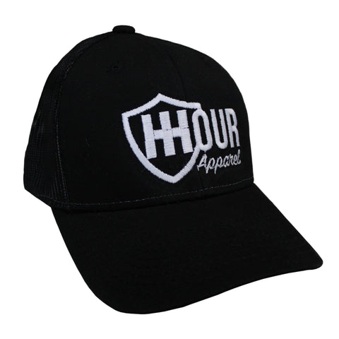 The Vented Trucker, Black