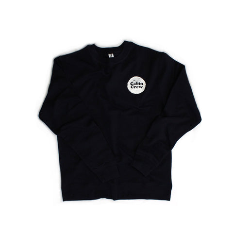 Cabin Crewneck - Midnight Navy