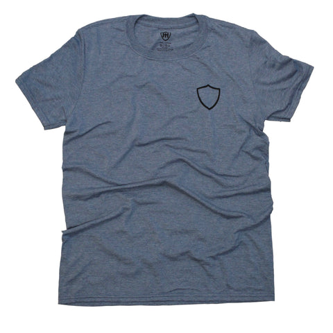 Party In The Back Tee - Athletic Indigo
