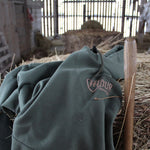 The Bonfire Hoodie - Jungle Green