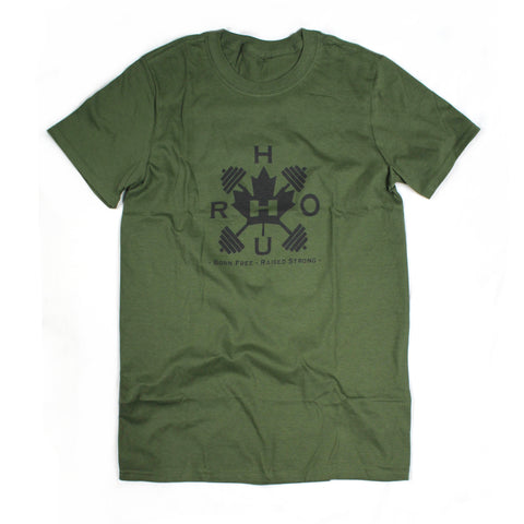 The Barbell Tee - Green